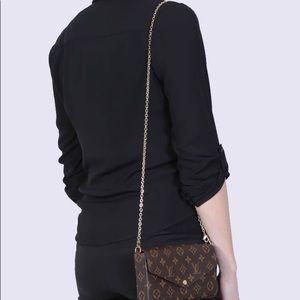 Louis Vuitton Bags - LOUIS VUITTON POCHETTE FELICIE CHAIN STRAP